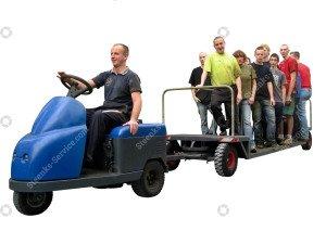 Personen Transportwagen