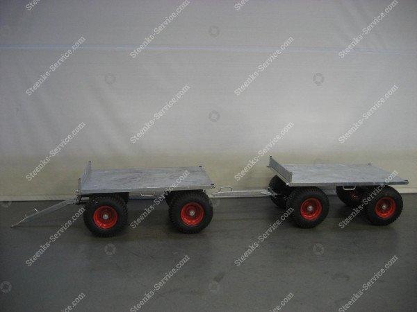 Spezielle Konstruktion Anhängerwagen | Bild 3