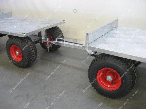 Spezielle Konstruktion Anhängerwagen | Bild 5