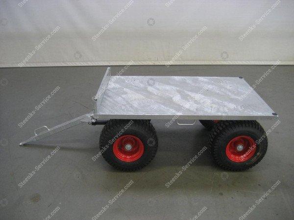 Spezielle Konstruktion Anhängerwagen | Bild 6