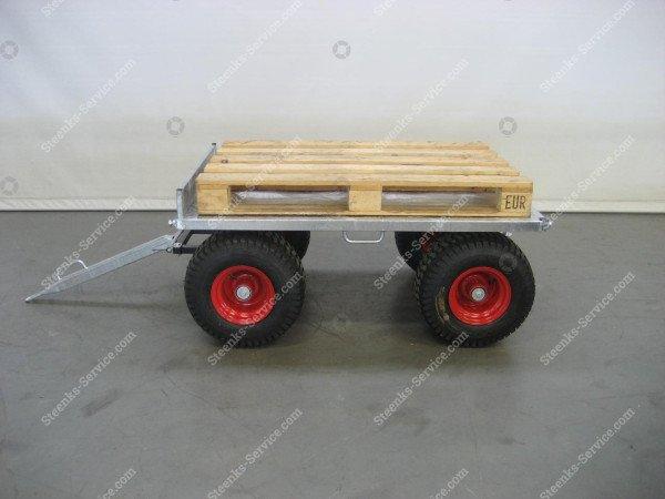 Spezielle Konstruktion Anhängerwagen | Bild 9