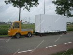 Spezielle Konstruktion Anhängerwagen