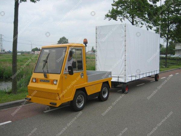 Spezielle Konstruktion Anhängerwagen   Bild 5