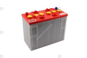 Battery 12V 118A/5h  pipe rail trolley