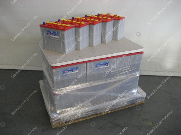 Battery 12V 118A/5h  pipe rail trolley | Image 3