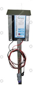 Aluminium battery charger for PSW