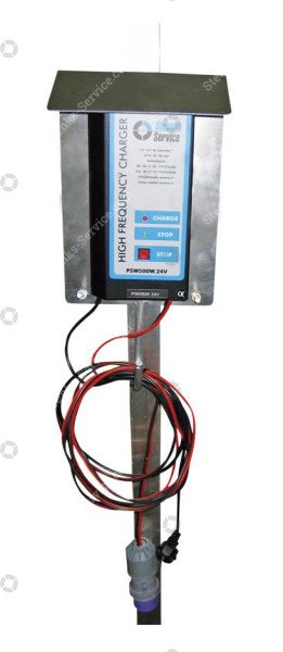 Battery charger alu for support