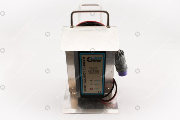 Battery charger alu support   Image 2
