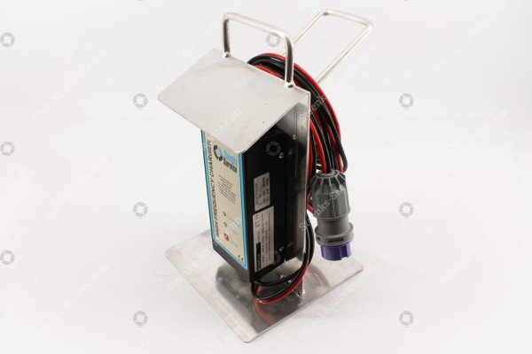 Battery charger aluminium support