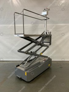Pipe rail trolley BBR010-HH Bogaerts
