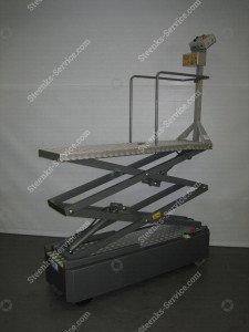 Pipe rail trolley BBR010-HH Bogaerts