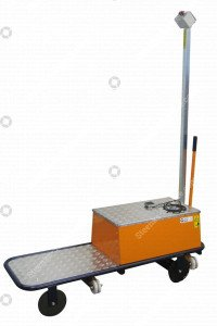 Pipe rail trolley BR08 Berg Hortimotive