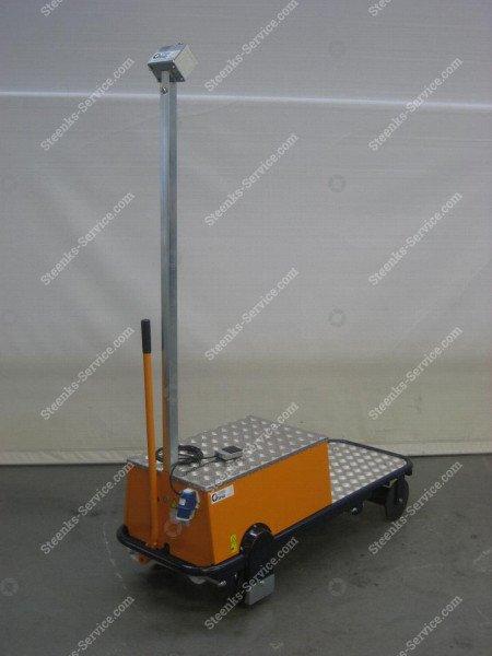 Pipe rail trolley BR08 Berg Hortimotive | Image 6