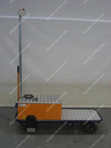 Pipe rail trolley BR08 Berg Hortimotive | Image 7