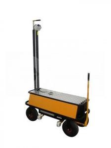 Air wheel trolley B-Air 1400