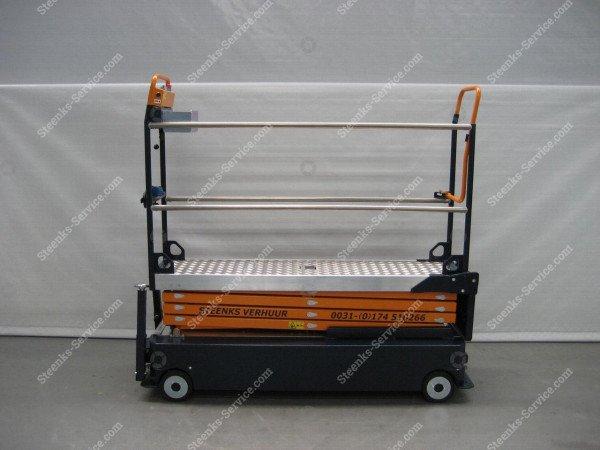 Stenomic piperail trolley 4-scissor | Image 4