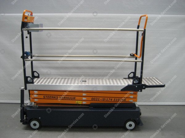 Stenomic piperail trolley 4-scissor | Image 5