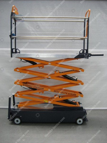 Stenomic piperail trolley 4-scissor | Image 6