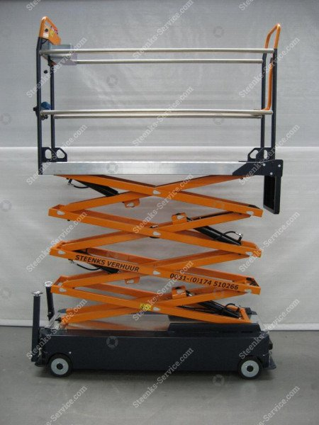 Stenomic piperail trolley 4-scissor | Image 7