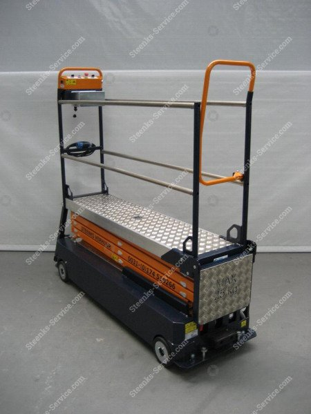 Stenomic piperail trolley 4-scissor | Image 8