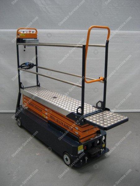 Stenomic piperail trolley 4-scissor | Image 9