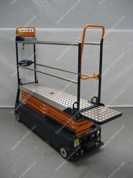 Stenomic piperail trolley 4-scissor | Image 9