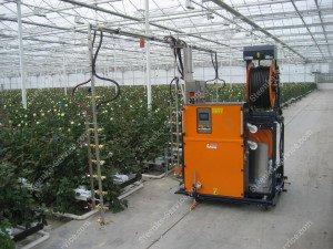 Spray robot Meto + trans