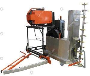 Spritz Roboter - Transportierwagen Meto