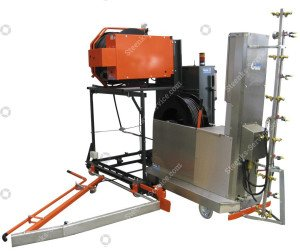 Spuitrobot-transportwagen t.b.v. Meto