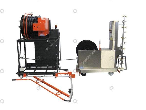Spuitrobot-transportwagen t.b.v. Meto | Afbeelding 3