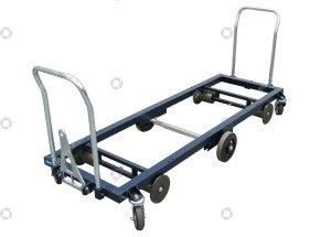 Transportwagen stahl 187 cm.