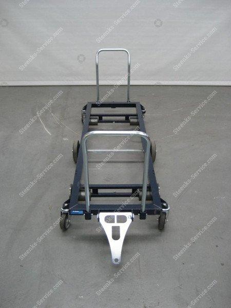 Transportwagen staal 187 cm.   Afbeelding 3