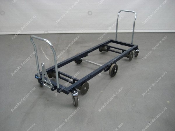 Transportwagen staal 187 cm.   Afbeelding 4