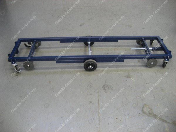 Transport trolley steel 242 cm.