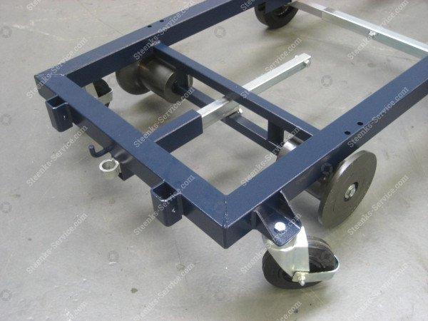 Transportwagen staal 242 cm.   Afbeelding 2