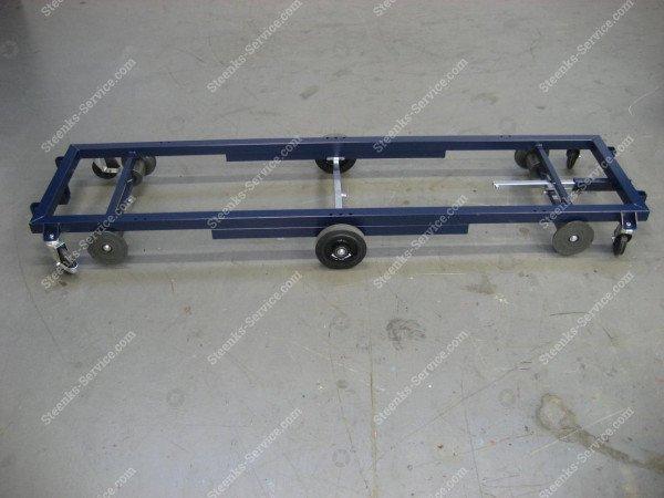 Transportwagen stahl 242 cm.