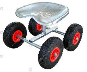 Air wheel seat trolley