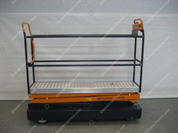 Rohrschienenwagen Benomic Star 350   Bild 6