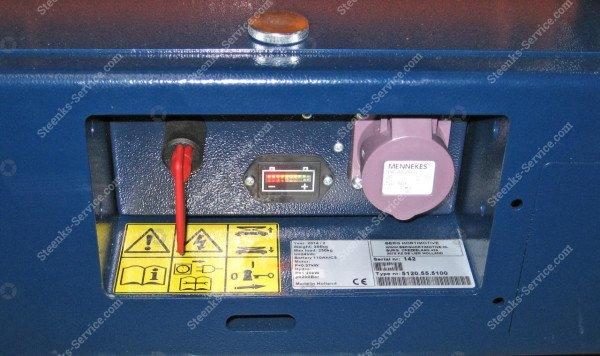 Pipe rail trolley Benomic 3-scissors | Image 8