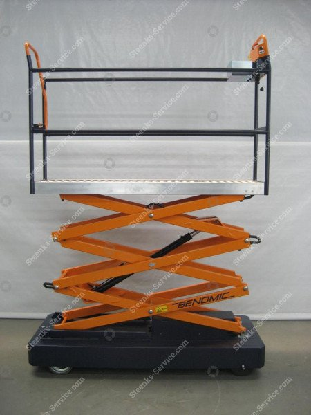 Rohrschienenwagen Benomic 3 Scheren | Bild 5