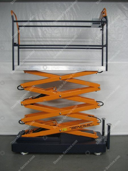 Pipe rail trolley Benomic 4-scissors | Image 5