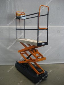 Pipe rail trolley Benomic Star (150 cm.)