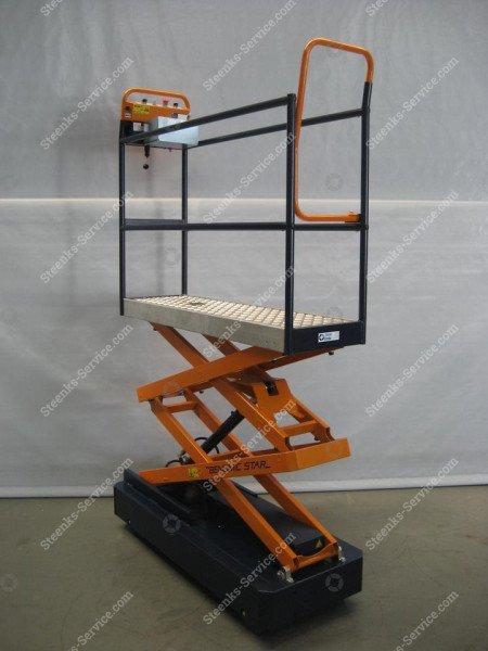 Pipe rail trolley Benomic Star (150 cm.)