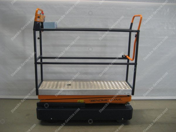 Pipe rail trolley Benomic Star (150 cm.) | Image 3