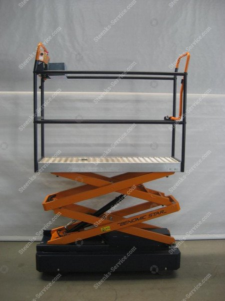 Pipe rail trolley Benomic Star (150 cm.) | Image 4