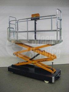 Pipe rail harvesttrolley Benomic