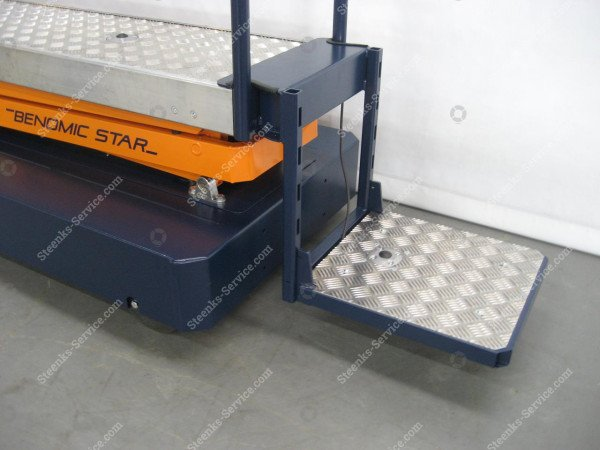 Support plateau with square foot pedal   Image 5