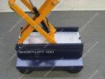 Buisrailwagen Short Lift 400 Steenks   Afbeelding 10