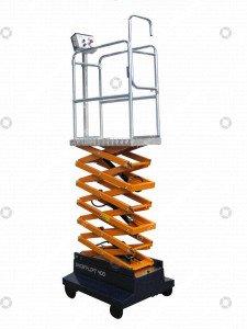 Pipe rail trolley Short Lift 400 Steenks