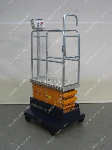 Buisrailwagen Short Lift 400 Steenks   Afbeelding 2